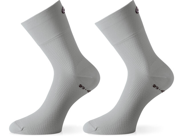 assos GT Chaussettes, silver fever